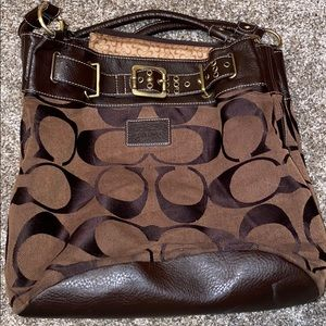 Brown Coach Purse